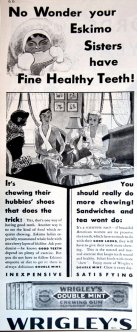 Chewing gum ad